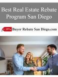 Best Real Estate Rebate Program San Diego