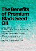 Know The Benefits of Premium Black Seed Oil PowerPoint PPT Presentation