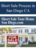 Short Sale Process in San Diego CA PowerPoint PPT Presentation