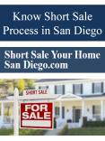 Know Short Sale Process in San Diego PowerPoint PPT Presentation