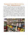 Displaying Products Effectively In Your Store - Mathaji Hardware PowerPoint PPT Presentation