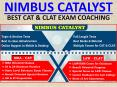 Nimbus Catalyst the Best CAT & CLAT Exam Coaching Institute in Chandigarh PowerPoint PPT Presentation