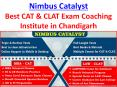 Nimbus Catalyst Best CAT & CLAT Exam Coaching Institute in Chandigarh PowerPoint PPT Presentation