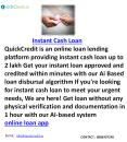 Instant Cash Loan PowerPoint PPT Presentation