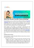 Why one should consider homeschooling? PowerPoint PPT Presentation