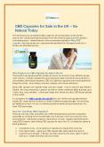 CBD Capsules for Sale in the UK – Go Natural Today