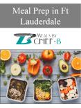 Meal Prep in Ft Lauderdale PowerPoint PPT Presentation