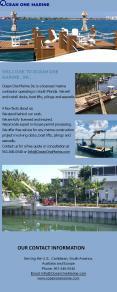 Docks ,Boat Lifts, Pilings & Seawalls | Ocean One Marine PowerPoint PPT Presentation