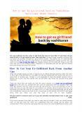 How to get Ex girlfriend back by Vashikaran -Astrologer Naksh Shastri PowerPoint PPT Presentation