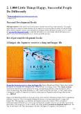 Personal Development Books PowerPoint PPT Presentation