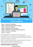 7 Web Development Steps to Design the Perfect Website PowerPoint PPT Presentation