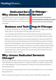 Chicago Dedicated Server PowerPoint PPT Presentation