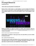 How to add a sound equalizer for Windows 10? PowerPoint PPT Presentation
