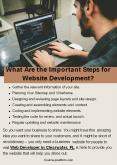 What Are the Important Steps for Website Development? PowerPoint PPT Presentation