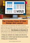 The 3 Golden Rules Of Web Design And Layout PowerPoint PPT Presentation