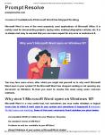 Common Troubleshoots if Microsoft Word Has Stopped Working PowerPoint PPT Presentation