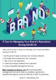 5 Tips for Managing Your Brand's Reputation During COVID-19 PowerPoint PPT Presentation