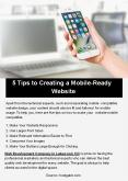 5 Tips to Creating a Mobile-Ready Website PowerPoint PPT Presentation