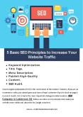 5 Basic SEO Principles to Increase Your Website Traffic PowerPoint PPT Presentation