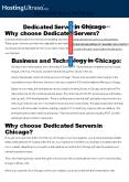Chicago Dedicated Server (1) PowerPoint PPT Presentation