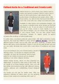 Mens Pathani Kurta Online in India PowerPoint PPT Presentation