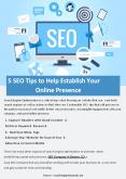 5 SEO Tips to Help Establish Your Online Presence PowerPoint PPT Presentation