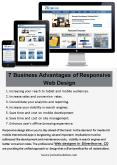 7 Business Advantages of Responsive Web Design PowerPoint PPT Presentation