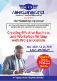 Creating Effective Business and Workplace writing with professionalism PowerPoint PPT Presentation