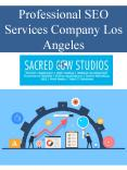 Professional SEO Services Company Los Angeles PowerPoint PPT Presentation