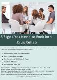 5 Signs You Need to Book into Drug Rehab. PowerPoint PPT Presentation