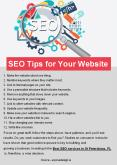 SEO Tips for Your Website PowerPoint PPT Presentation