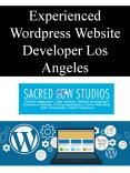 Experienced Wordpress Website Developer Los Angeles PowerPoint PPT Presentation