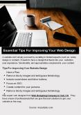 Essential Tips For Improving Your Web Design PowerPoint PPT Presentation