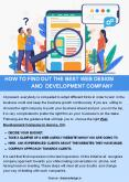HOW TO FIND OUT THE BEST WEB DESIGN AND DEVELOPMENT COMPANY PowerPoint PPT Presentation