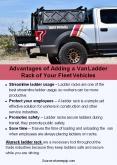 Advantages of Adding a Van Ladder Rack of Your Fleet Vehicles PowerPoint PPT Presentation