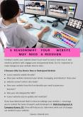 6 REASONS WHY YOUR WEBSITE MAY NEED A REDESIGN PowerPoint PPT Presentation