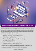Web Development Trends In 2020 PowerPoint PPT Presentation