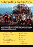 Top Services Pirate Ship Cruise Provide PowerPoint PPT Presentation