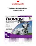 Frontline Plus For Large Dogs 44-88 lbs (Purple) - PDF - CanadaPetsSupplies PowerPoint PPT Presentation