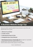 4 Business Website Design Tips PowerPoint PPT Presentation
