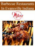 Barbecue Restaurants In Evansville Indiana PowerPoint PPT Presentation
