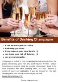 Benefits of Drinking Champagne PowerPoint PPT Presentation