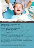 7 Dental Health Myths – You Shouldn't Believe PowerPoint PPT Presentation