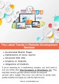 The Latest Trends in Website Development Services PowerPoint PPT Presentation
