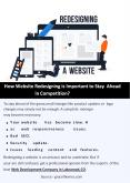 How Website Redesigning is Important to Stay Ahead in Competition? PowerPoint PPT Presentation