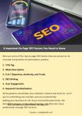 6 Important On-Page SEO Factors You Need to Know PowerPoint PPT Presentation