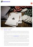 Best Poker games in the world PowerPoint PPT Presentation