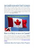Appoint a dependable immigration consultant in Chennai for Canada immigration PowerPoint PPT Presentation