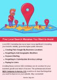Five Local Search Mistakes You Want to Avoid PowerPoint PPT Presentation