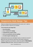 Responsive Web Design Tips PowerPoint PPT Presentation